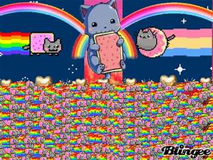 nyan cat army Picture #131330762 | Blingee.com