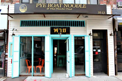 Pye Boat Noodle House by The Best Restaurants In Astoria Nyc Travelmag