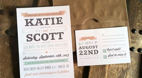 Top 25+ Best Casual Wedding Invitations Ideas On Pinterest