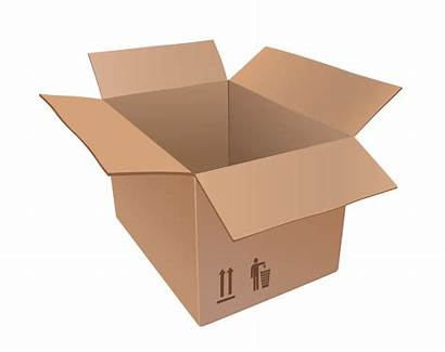 Boxes Moving Clipart Box Cardboard Transparent Background