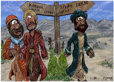 Paul And Barnabas Separate