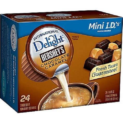 Do you like a little coffee with your creamer? International Delight Hershey's Chocolate Caramel Creamer Singles | eBay