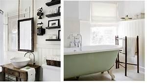 decoration salle de bain style cape cod With salle de bain design avec décoration champêtre pour anniversaire
