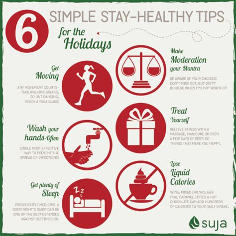 Staying Healthy During The Holidays  6 Healthy Holiday Tips