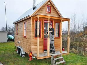 Tiny Haus Selber Bauen : tiny house die gro e idee vom kleinen haus auf r dern ~ Lizthompson.info Haus und Dekorationen