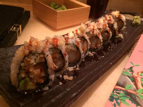 Bonsai Sushi Bonsai Sushi Restaurant Review On The Carnival Sunshine