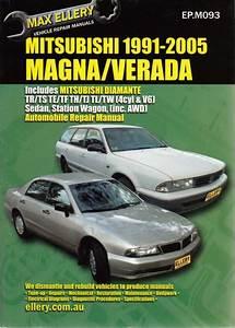 Mitsubishi Magna Verada V6 Te Tj Ke Kj 1996 2005