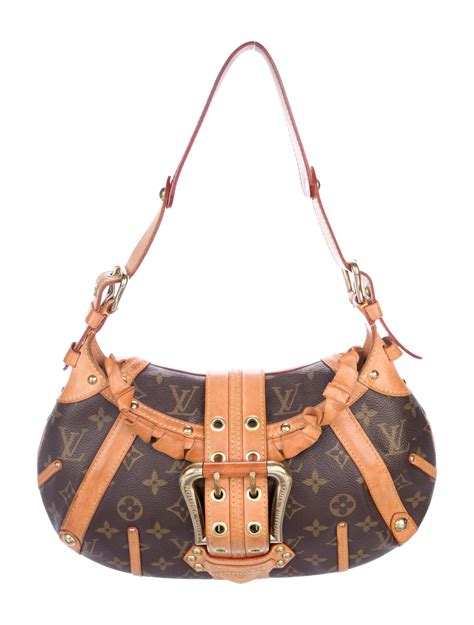 louis vuitton monogram leonor bag handbags lou  realreal