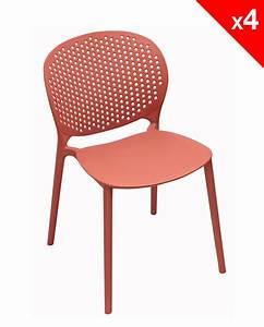 Chaise Moderne Design : lot de 4 chaises moderne int rieur ext rieur goa ~ Teatrodelosmanantiales.com Idées de Décoration