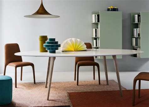 Argo Oval Dining Table  Contemporary Oval Dining Tables