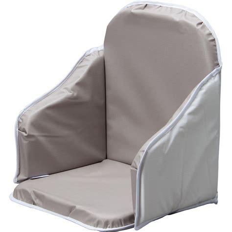 coussin de chaise gris coussin de chaise pvc gris de combelle sur allobébé