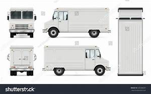 Food Truck Vector Template Car Branding Stock Vector ...