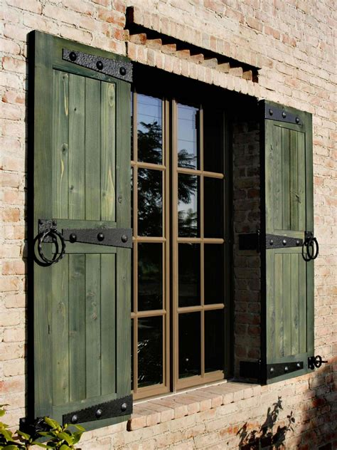 A Collection of Exterior Shutter Styles - Window Source NH