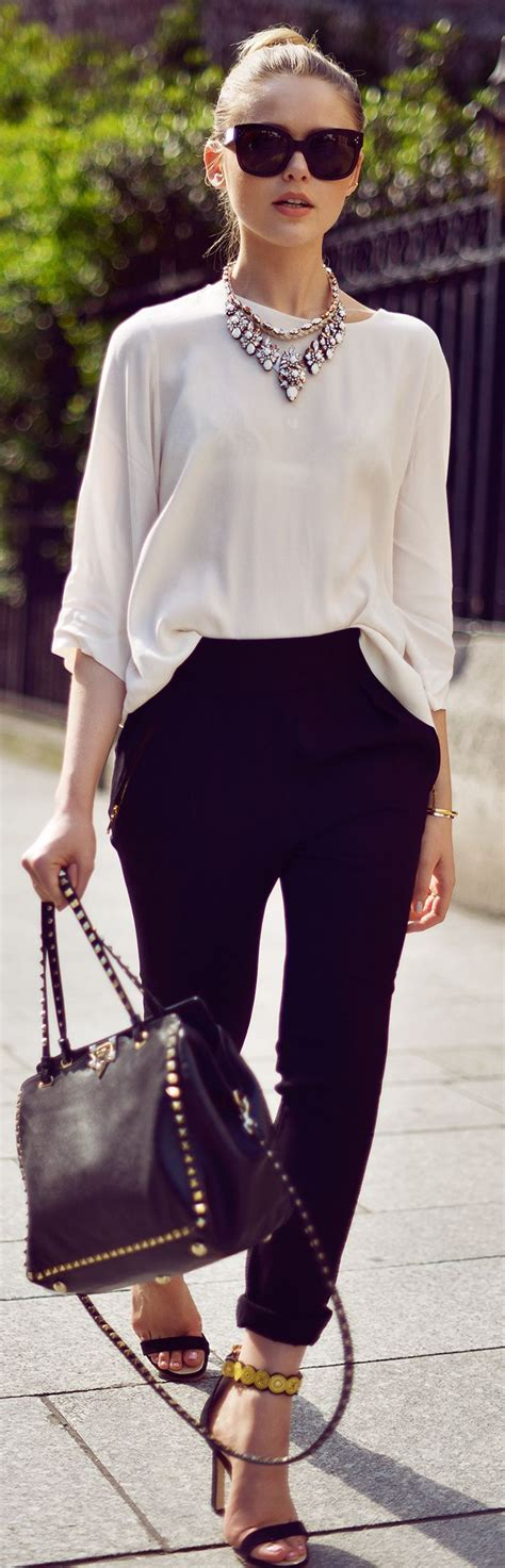 ideas  trousers women outfit  pinterest executive fashion trouser outfits
