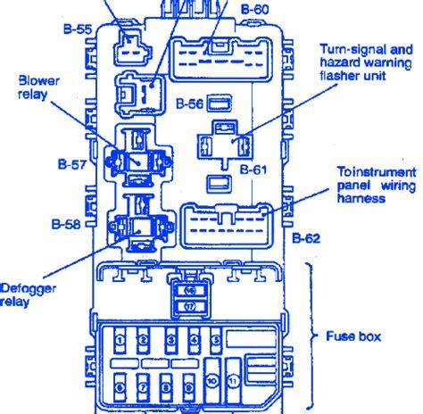 2003 3 8 Mitsubishi Wire Diagram by Mitsubishi Mirage Coupe 1 8l 2004 Fuse Box Block