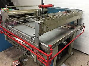 Manual Screen Printing Equipment, Graphics Press + More!