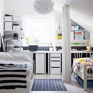 Chambre 9m2 Ikea : les r gles d 39 or pour am nager une petite chambre marie ~ Melissatoandfro.com Idées de Décoration