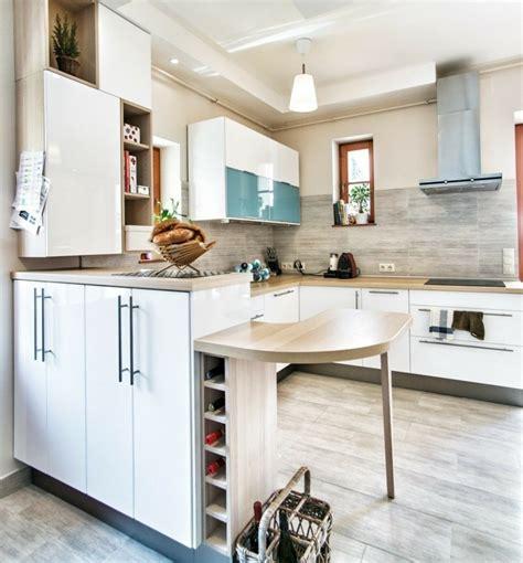 casier a bouteille pour cuisine blanco y madera cincuenta ideas para decorar tu cocina