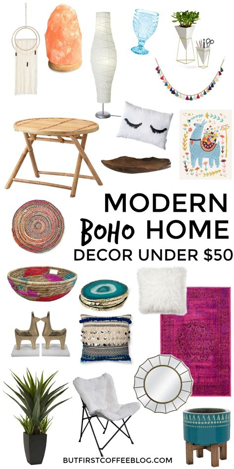 modern boho home decor that you can get for 50