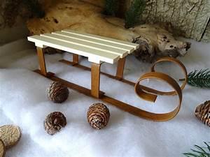 Schlitten Aus Holz : deko schlitten aus holz und metall l nge 27 cm winter weihnachten wohndeko ebay ~ Yasmunasinghe.com Haus und Dekorationen
