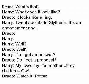 i'm not a d... Drarry Book Quotes