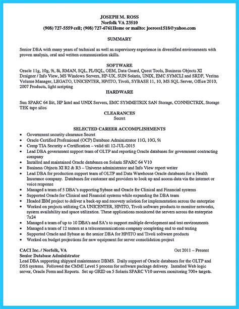 High Impact Database Administrator Resume To Get Noticed. Where To Put Computer Skills On Resume. Td Resume. Manual Testing Resume Sample. Administrative Resume Examples. Intelligence Analyst Resume. Resume Template Work Experience. Mule Esb Resume. Visual Resume Examples