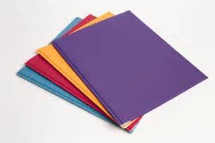 Colored School Folders