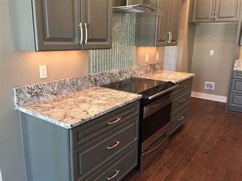 grey kitchen cabinets with granite countertops luxury countertops gray in the kitchen and bathroom 8360