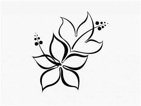 Simple Line Flower Designs