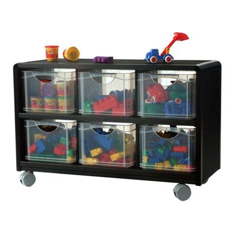 tiroir en rangement rangement mobile 6 tiroirs en plastique pour enfants