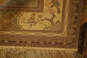 tapis chinois en soie xxeme 240cmx170cm tapis tapisseries With tapis chinois en soie
