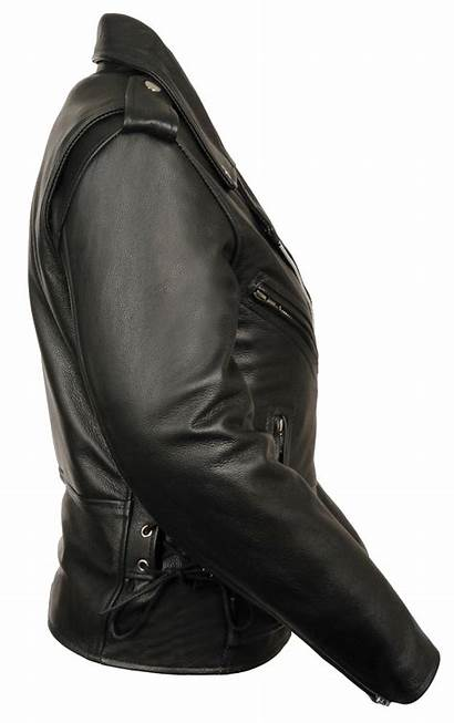 Leather Police Jacket Motorcycle Traditional Ladies Jackets