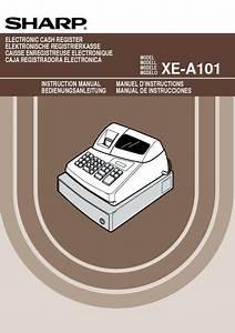 Sharp Xe  Operation Manual
