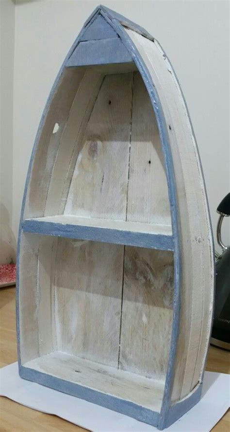 shabby chic boat shelf   pallet wood pallet