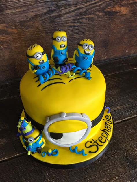 By pirikos this is a very special cake made for our son's third. Sweet T's Cake Design: Minions Birthday Cake