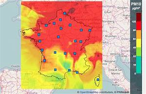 Carte France Pollution : le pic de pollution cache la permanence de la pollution de l air ~ Medecine-chirurgie-esthetiques.com Avis de Voitures