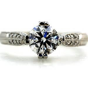 vintage solitaire engagement rings wedding decorations unique engagement rings