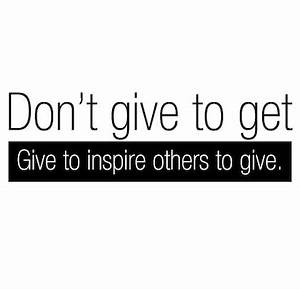 Quotes About Giving To Others. QuotesGram