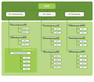 Organizational Structure Chart Example