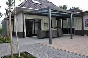 Terrassenüberdachung Alu Mit Montage : terrassen berdachung aluminium 500x350 cm pergola ~ Articles-book.com Haus und Dekorationen