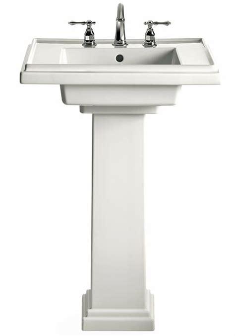 Kohler Tresham Pedestal Sink Specs by 12 Ideas For Bungalow Baths House House