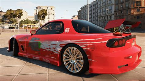 Dom Fast And Furious Car by Forza Horizon 2 Fast Furious Cars Dom S Rx 7