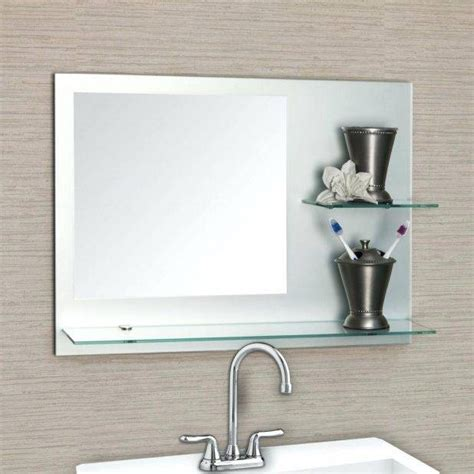 Cheap Bathroom Wall Mirrors by 15 Best Collection Of Big Frameless Wall Mirrors