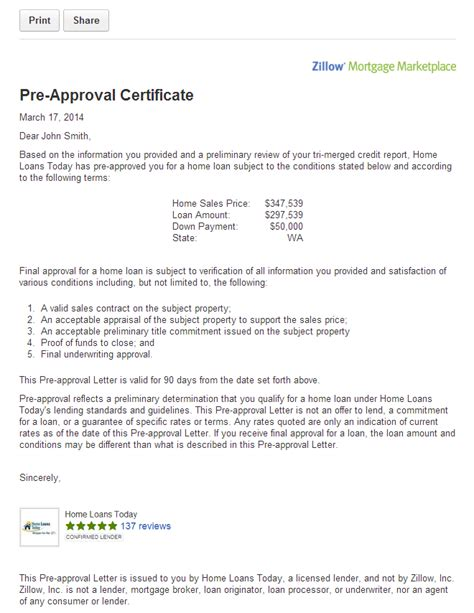 pre approval letter get pre approved for a mortgage on zillow orange county 34549
