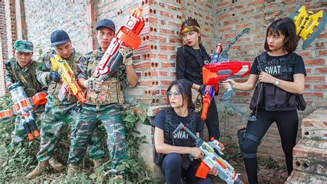 Ltt Nerf War  Squad Seal X Warriors Nerf Guns Fight