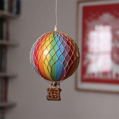 Bathroom Shelves With Baskets by Single Mini Air Balloon Decoration Rainbow