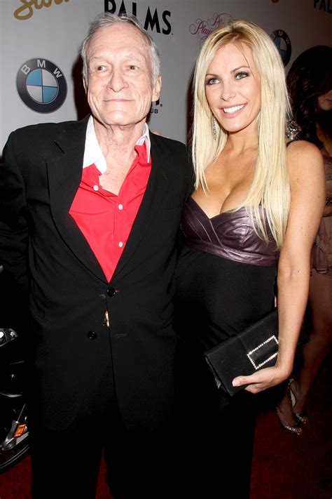 Hugh Hefner's wife Crystal gives first interview since his ...
