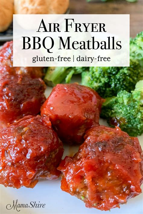 meatballs bbq fryer air gluten mamashire