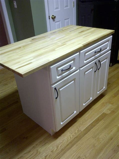 diy kitchen island from stock cabinets cheap diy kitchen island ideas woodworking projects plans