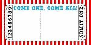 Circus Invitation Template Free With Circus Invitation ...